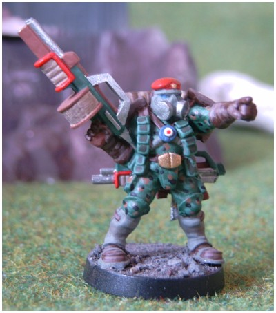 BloodBeret Captain